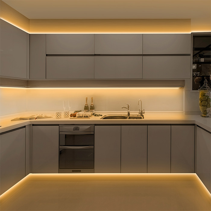 Led Lighting In Kitchen Cabinets