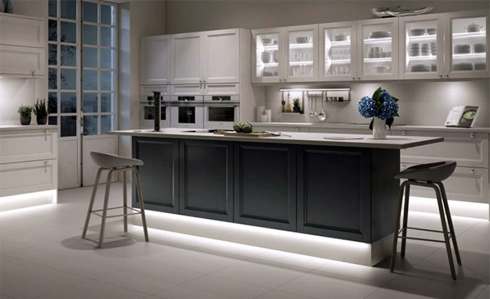 How To Choose And Install Led Strip, Led Light For Kitchen Cabinet