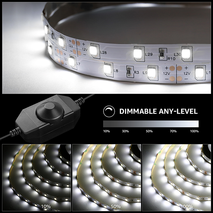 brightness and dimmable
