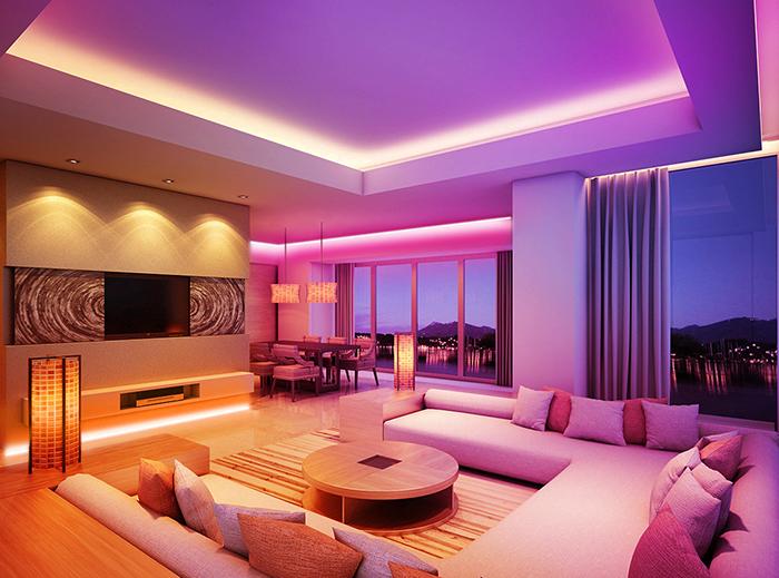 living room ceiling led light strip