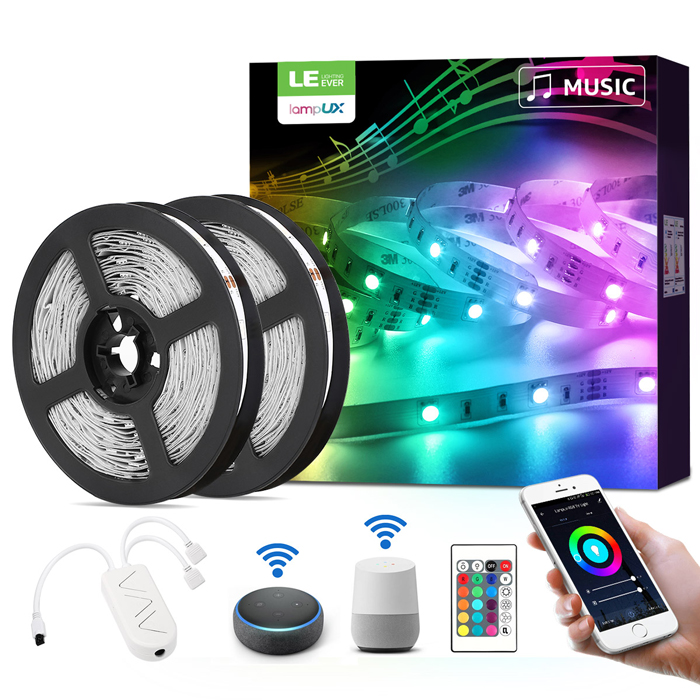 How To Set Up Led Strip Lights That Sync With Music