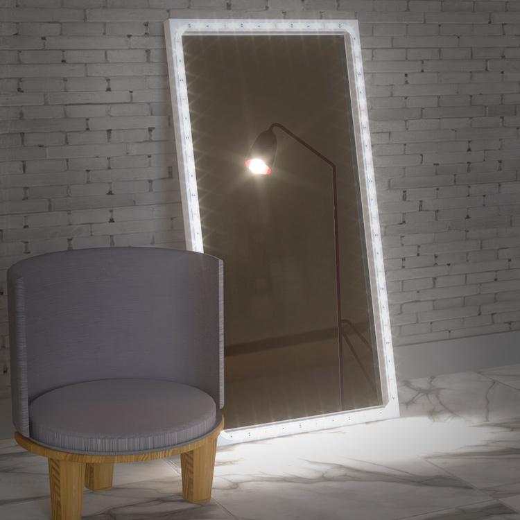 full length mirror led strip lights