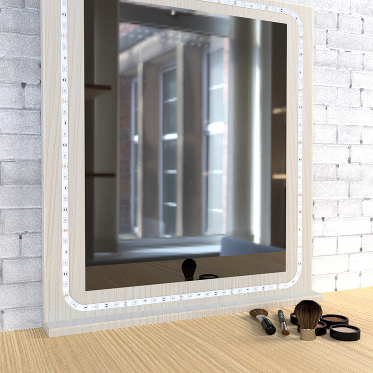 How To Diy Vanity Mirror With Led Strip Lights