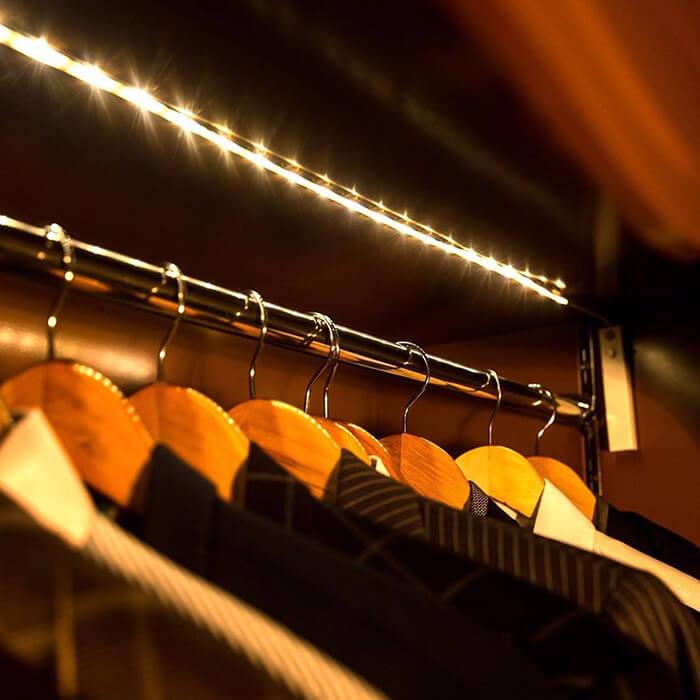 How To Install Closet Led Strip Lights