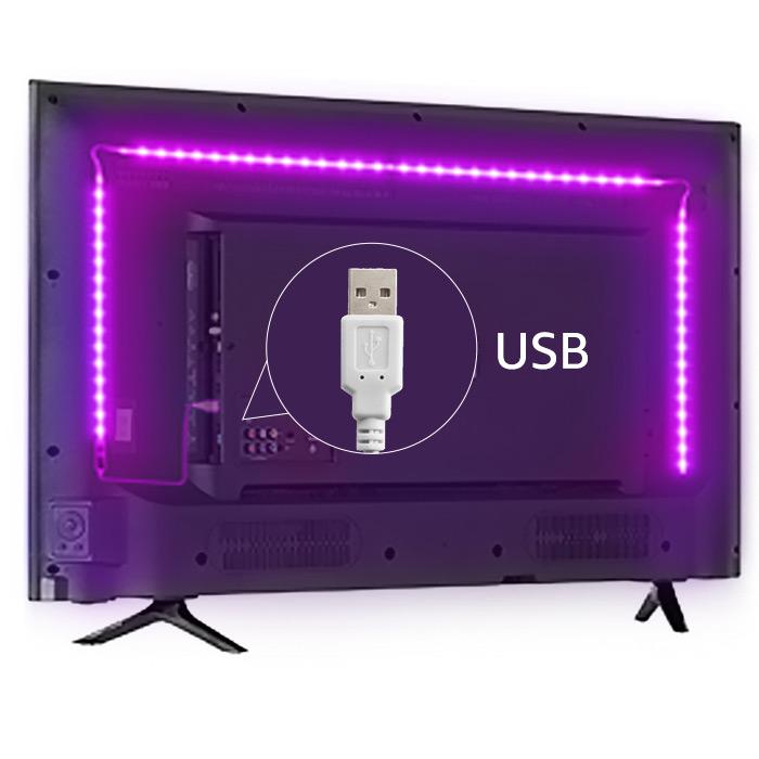 led strip lights lg tv
