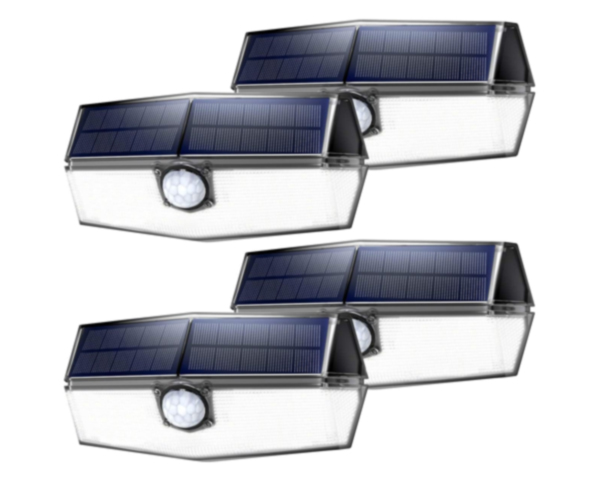 LITOM 120 LED Solar Lights Outdoor
