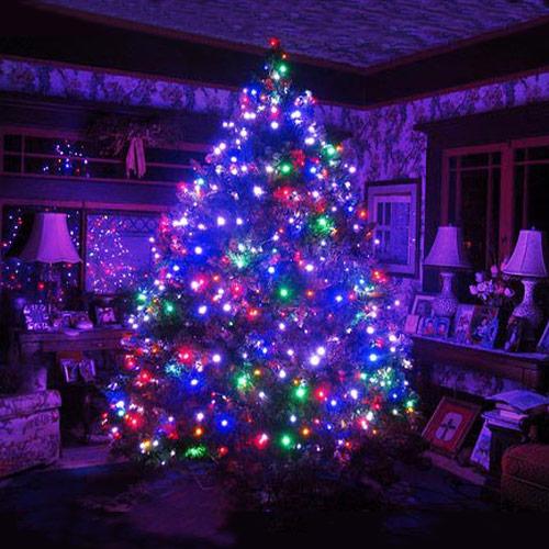 christmas RGB LED globe string lights
