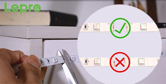 how to set up led strip lights
