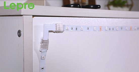 how to put up led light strips