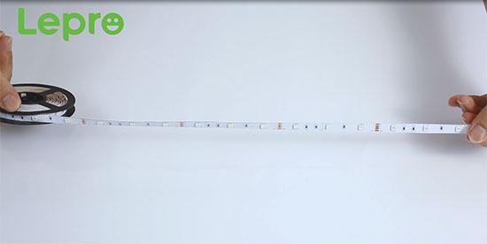 how to hang led strip lights
