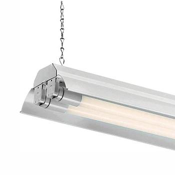 EnviroLite 4 ft. 2-Light White Commercial LED Shop Light
