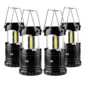 3W 6000-7000K IPX4 LED Camping Lights