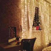 Indoor string lights for bedroom
