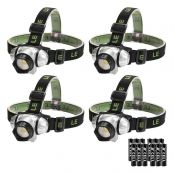 IP44 Headlamp For Running, Hiking, Camping, Fishing, Hunting