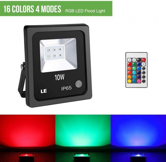 10w Color Changing Led Flood Lights 16