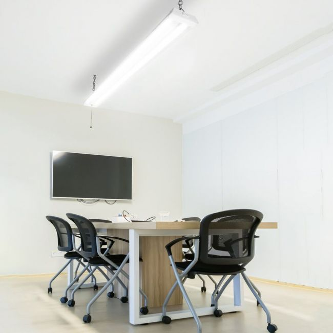 2X 4ft 42 Watt LED Shop Light Garage Workbench Ceiling Lamp 5000K Daylight ST