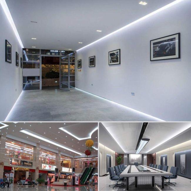 Led Ceiling Strip Lights   Taraba Home Review