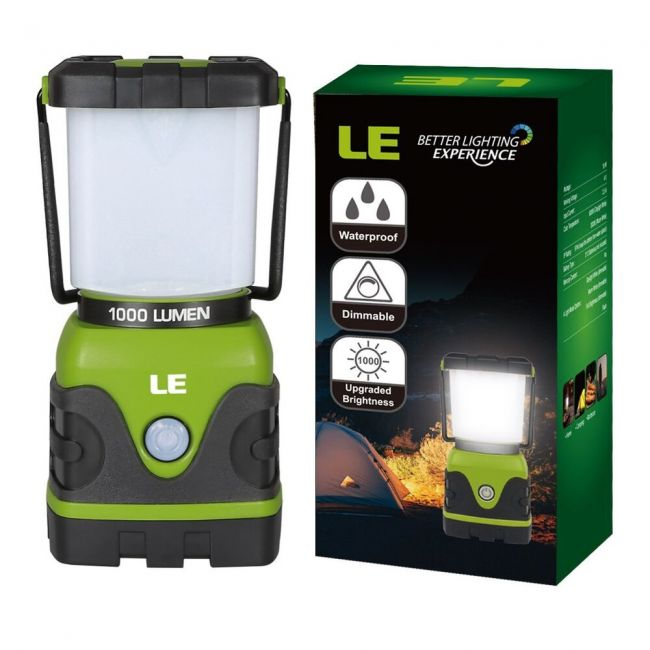 Camping Lights Dimmable 4 Modes 1000lm