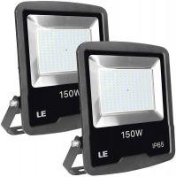 LE 150W Outdoor LED Flood Light, 12000 Lumen Security Lights, 400W HPS floodlight Equivalent, Waterproof IP65 Garden Light, 5000K Daylight White Floodlight
