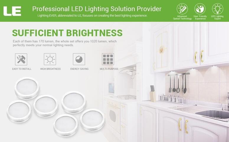 led kitchen under cabinet lighting