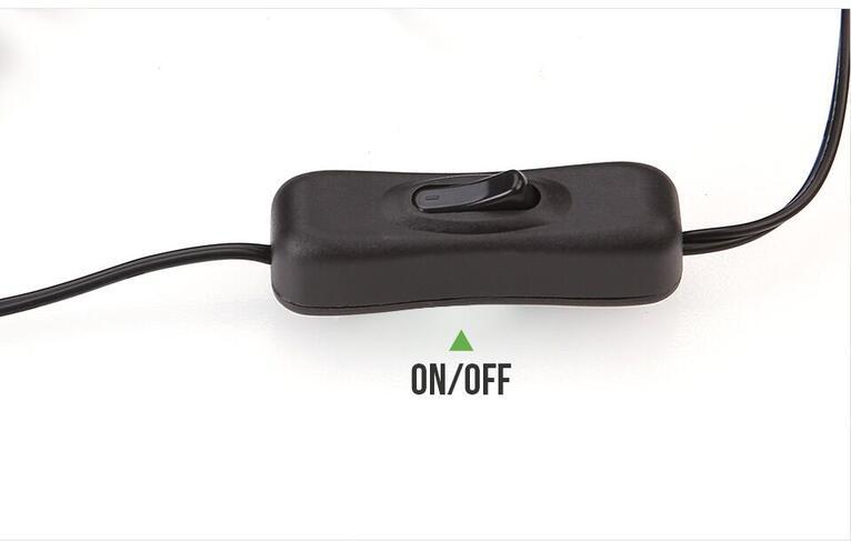 Warm White LED Under Cabinet Lighting Kit On/Off