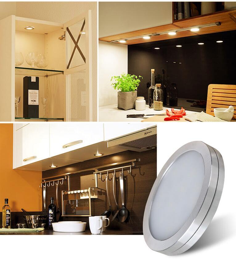 Warm White LED Under Cabinet Lighting Kit For Home Lighting