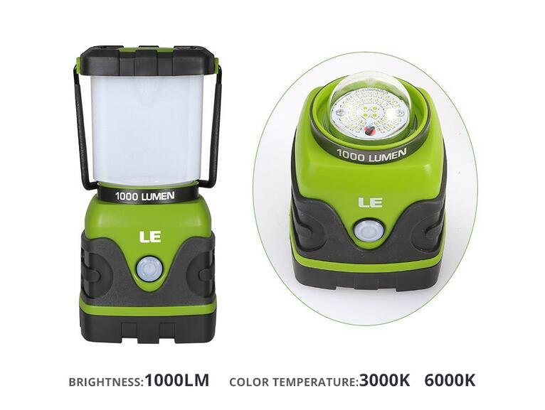 1000lm Dimmable Portable LED Lantern Portable light