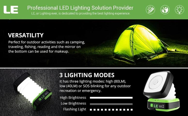 usb rechargeable led camping lights