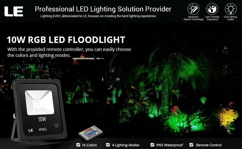 10w rgb led floodlights