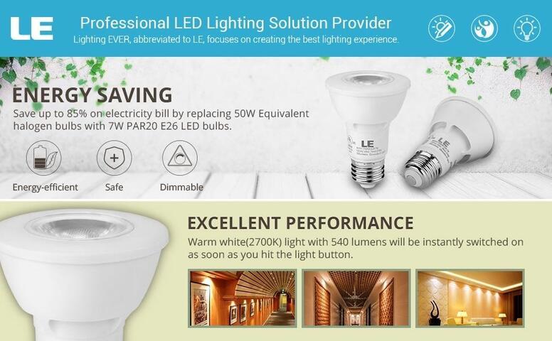 7w warm white led spotlight bulbs