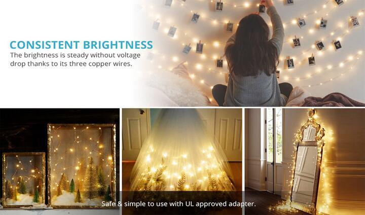 flexible fairy string lights
