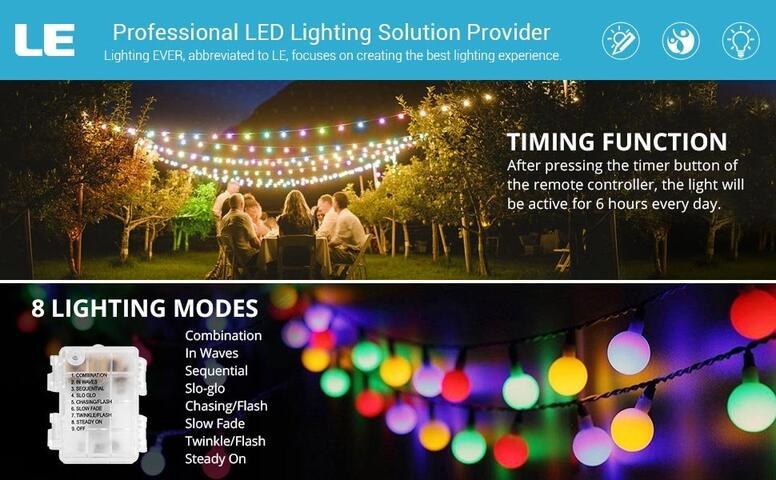 rgby led globe string lights