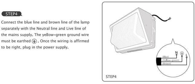 70W LED Wall Pack Outdoor