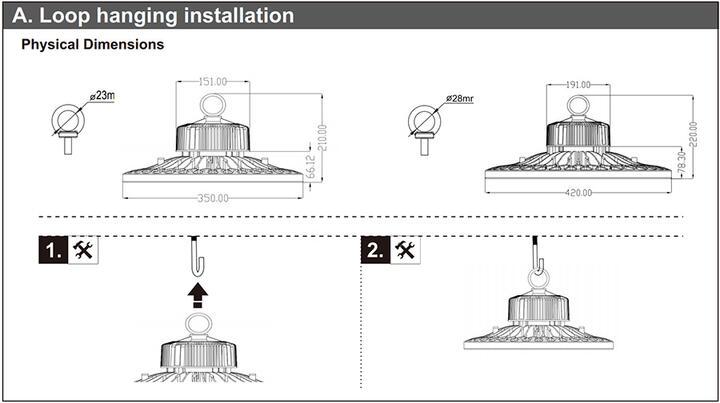 UFO Bay Light Install Guide