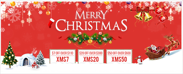 2018 CHRISTMAS UP TO $50 OFF